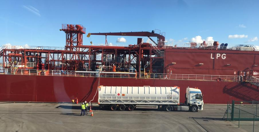 Transport LNG gas